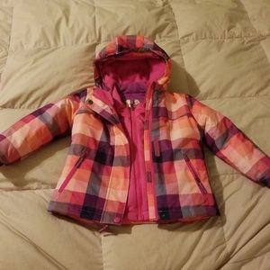 Double layer toddler girls jacket 3t